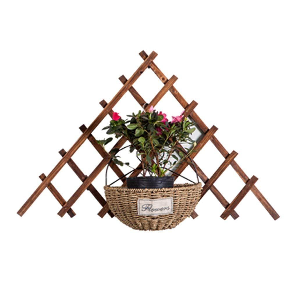 CSPMM Flower Ladder Rack, Wooden, Planter Holder, Elegant Design Floor Shelf, Indoor Outdoor Garden Patio Plant Bonsai Porta Fiori Decorativi (Dimensioni   Small)