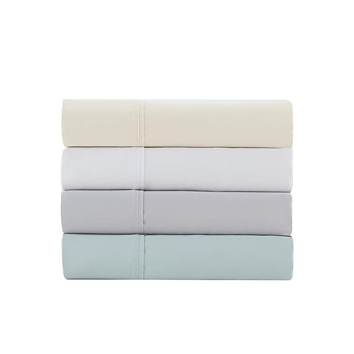 Queen 1500 Thread Count Cotton Rich Sheet Set Ivory