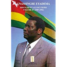 Gnassingbe Eyadema, Discours et allocutions (French Edition)