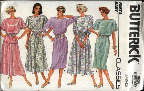50s dress pattern easy - 8