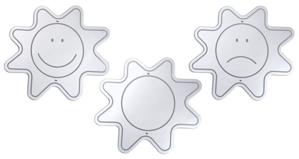 Whitney Brothers Mood Mirrors, (Set of 3)