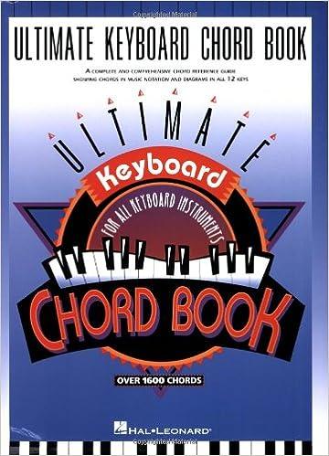 Ultimate Keyboard Chord Book Hal Leonard Corp 9780793551446
