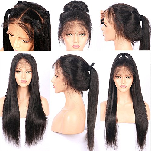 Helene Straight Ponytail Wig Full Lace Wigs