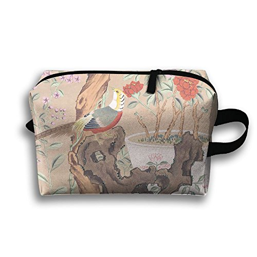 Landscape Painting Full Print Classic Travel Cosmetic Pouch Bag Stylish Cosmetic Bag Cosmetic Bags For Travel Home Makeup Junkie Bags Pouch With ()
