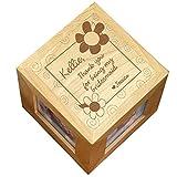 GiftsForYouNow Thank You Bridesmaid Photo Cube Deal