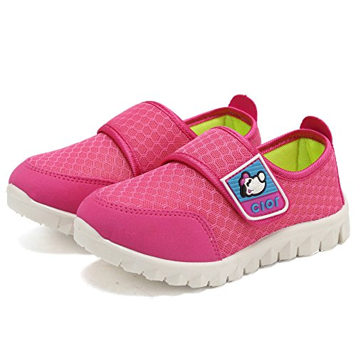 CIOR Kid's Mesh Lightweight Sneakers Baby Breathable Slip-On For Boy and Girl's Running Beach Shoes(Toddler/Little Kid) 33