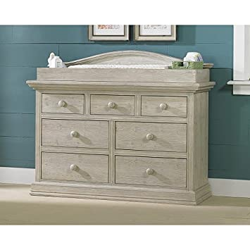 White Washed Pine Cosi Bella Dresser Changing Topper   Dresser Not Included