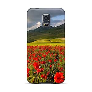Slim Fit Tpu Protector Shock Absorbent Bumper Cases For Galaxy S5