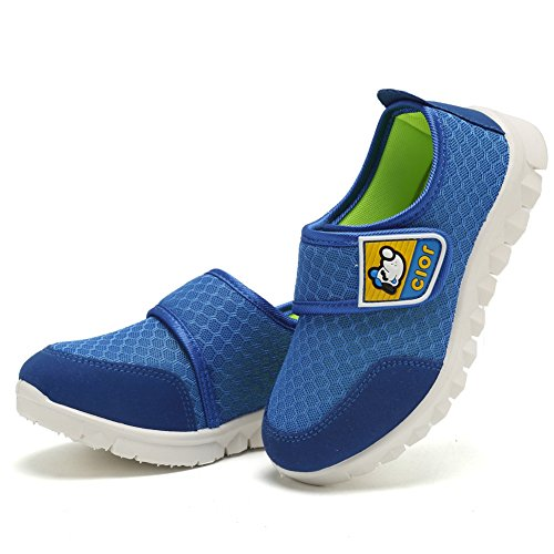CIOR Kid's Mesh Lightweight Sneakers Baby Breathable Slip-On For Boy and Girl's Running Beach Shoes(Toddler/Little Kid) 17