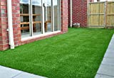 Synthetic Turf Artificial Lawn Grass Indoor Outdoor Premium Realistic Landscape (6.5 ft X 13 ft = 85 sqf)