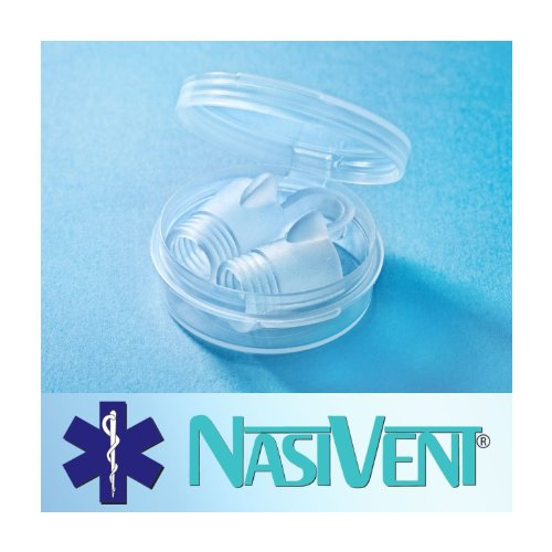 NasiVent Tube Plus Anti Snoring Device 2-Pack (Large) anniversary Sale, special offer!!