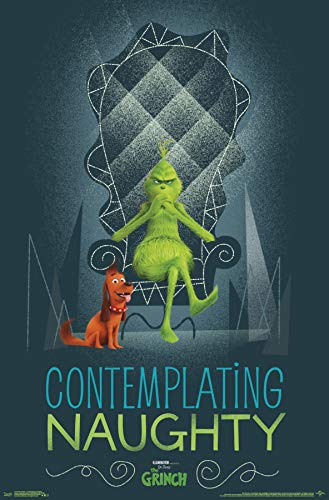 Trends International The The Grinch - Contemplating Naughty