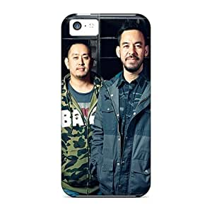 Anti-Scratch Cell-phone Hard Covers For Iphone 5c With Support Your Personal Customized Realistic Linkin Park Band Skin MansourMurray