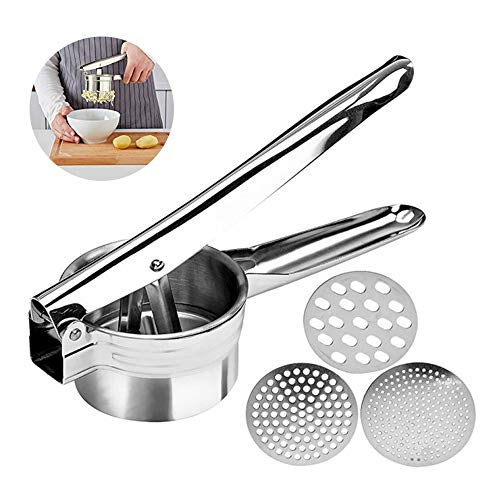 Professional Stainless Steel Potato Ricer