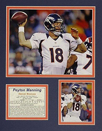 Peyton Manning 8x10 Matted Photo - Peyton Manning - Broncos White 11