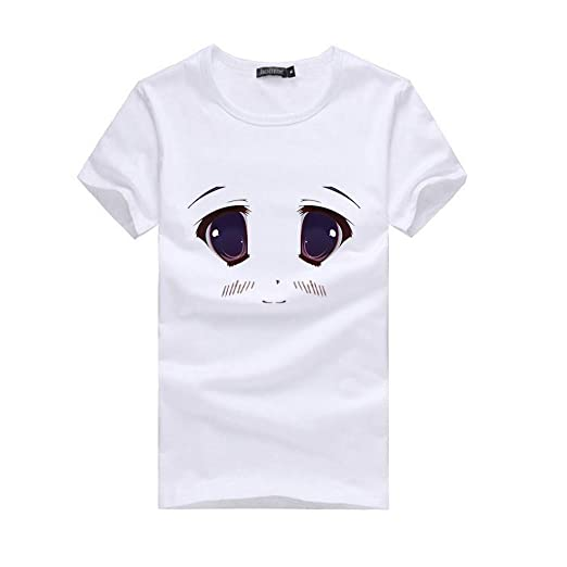 f6710a429 Image Unavailable. Image not available for. Color: Womens Pullover Shirts,Casual  Tops for Women Short Sleeve ...