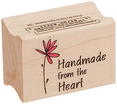 Hero Arts Handmade from The Heart Woodblock Stamp (Block Lettering)