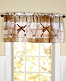 The Lakeside Collection Born to Hunt Window Valance Review