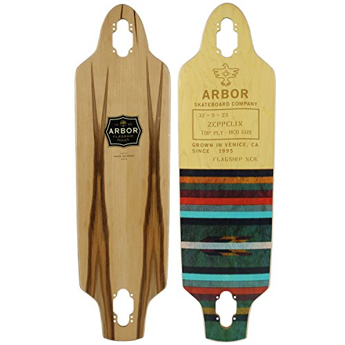 Arbor Longboard Cruiser Deck Zeppelin 9