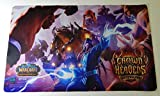 World of Warcraft WoW TCG Crown of the Heavens Epic Collection Playmat