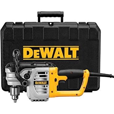 DeWalt DWD460K 11 Amp 1/2 Right Angle Stud and Joist Drill with Bind-Up Control Kit