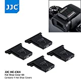 4Pcs Dedicated Camera Hot Shoe Cover Protector Cap for Canon EOS 1DX 5DS 5DSR 5DM4 5DM3 6D 6DM2 7D 7DM2 80D 77D 70D T7i T6s T6i T5i T7 T6 T5 SL2 SL1 M50 M5 M2 Powershot G1X G5X G16 G15 SX60 HS SX50 HS