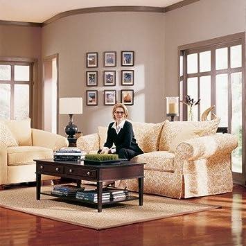 Amazon Com Rowe Furniture 769x Carmel Slipcovered Sofa And Chair