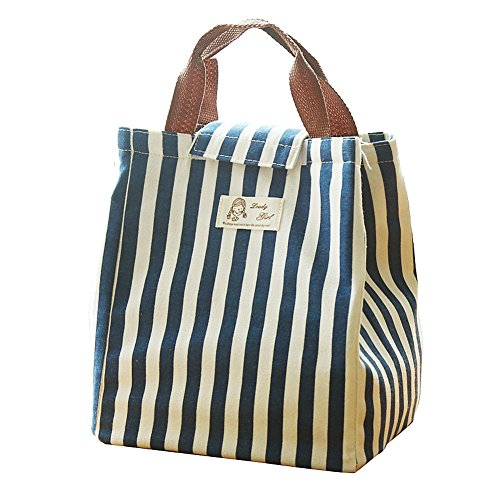 Moolecole Jupan Style Insulation Picnic Lunch Tote Bag Schoo