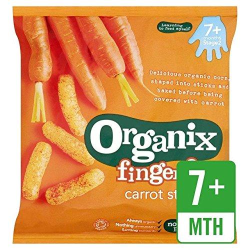 Organix Finger Foods Organic Crunchy Carrot Sticks - 20g (0.04lbs)