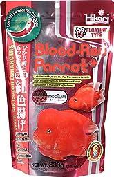 Hikari 330342 Blood, Red Parrot+, Medium Pellets, 333g