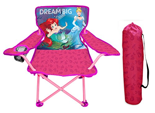 Disney Princess Heart Strong Fold N Go Chair Furniture by Disney Princess (Image #1)