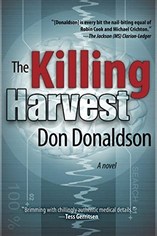 book cover of The Killing Harvest