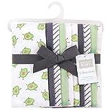 Hudson Baby Unisex Baby Cotton Flannel Burp