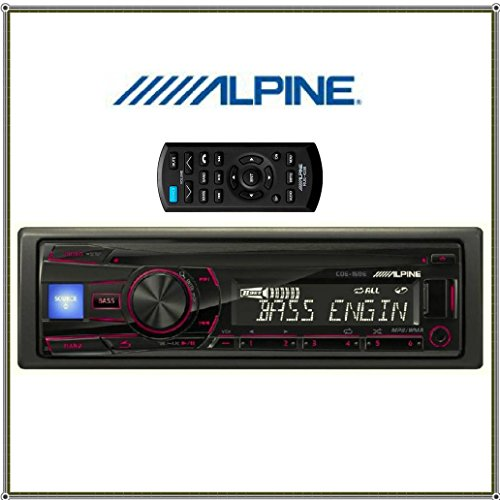 Alpine CDE-150E CD CAR Receiver with front USB & 3.5mm AUX &