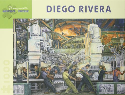 Diego Rivera Detroit Industry: North Wall Detail, 1933 - 1000 Piece ()