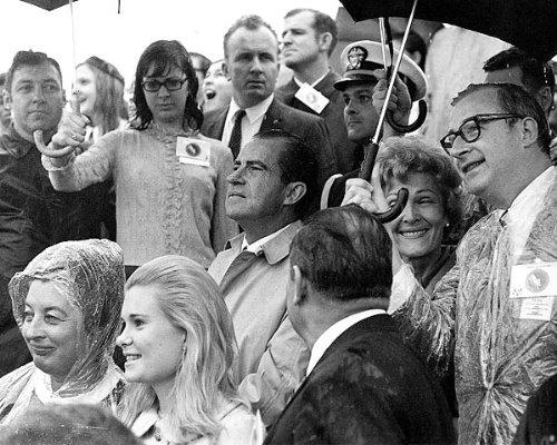 Richard Nixon Apollo 12 Launch 11x14 Silver Halide Photo Print
