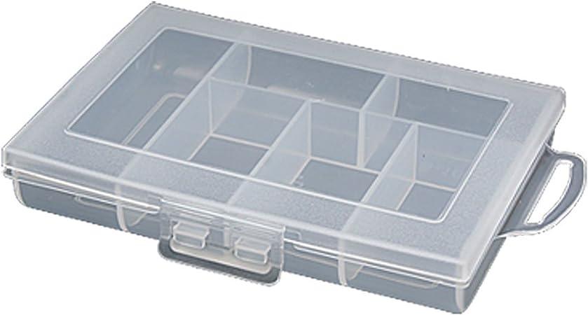 Blanco Translúcido Estuche Plástico Surtido Case Componentes Caja: Amazon.es: Hogar