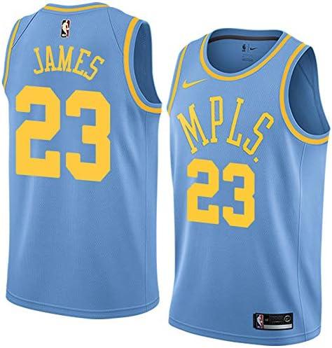 ジャージー スポーツウェア Los Angeles Lakers James #23 バスケットボール ユニフォーム スポーツ シャツ Tシャツ