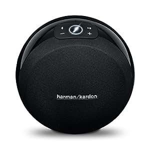 Harman Kardon Omni 10 Compact Portable Bluetooth HD Wireless Audio Stream, Multi-room Streaming powered speaker System (Certified Refurbished)