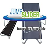 Original Jump Slider & NEW Jump Climber - Trampoline Climb-N-Slide | Easy To Climb Easy To Slide Back Down | Safer and More Fun Than Regular Ladders | by Trampoline Pro