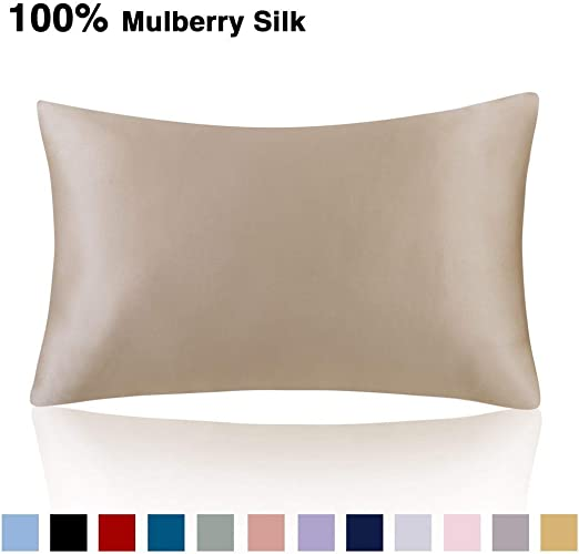 Amazon Com Ethereal Lomoer 100 Natural Pure Silk Pillowcase For
