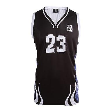 75c0ef9f1 DJY Customization Basketball Jerseys Moisture Wicking Basketball Training  Competition Sweatshirt Black Blue ...