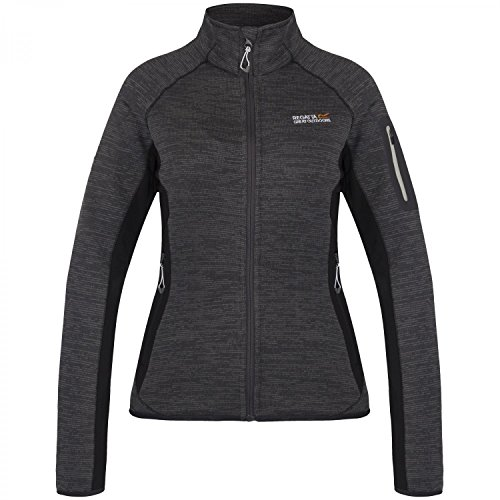 Sporty Regatta Seal ladies Grey Fleece Effect Womens Knit Laney Ii Jacket wITZHrIq