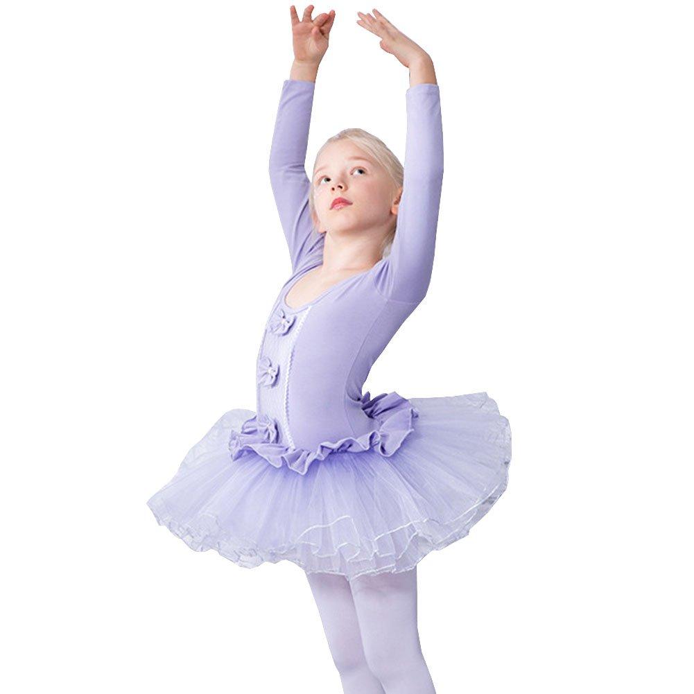 Lisianthus Girls Gymnastics Tutu Ballet Leotard Dress