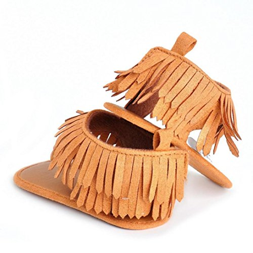 Huhu833 Babyschuhe, Kinder Mädchen Floral Bowknot Sandalen Sneaker Lace Princess Casual Einzelne Schuhe Braun
