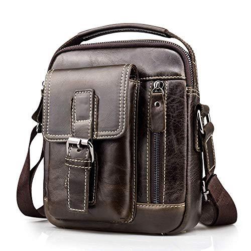 tracolla Messenger Handbag maschile Borsa Harmiliy Borsa pelle a Body Borsa Cross tracolla a Vintage Business a in Practical spalla 0nOX8wPk