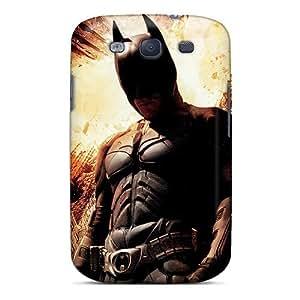 Galaxy S3 Case Bumper Tpu Skin Cover For Christian Bale Dark Knight Rises Accessories