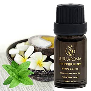 Peppermint Essential Oil - 100% Pure, Natural and Therapeutic Grade - 10ml – By JuJu Aroma