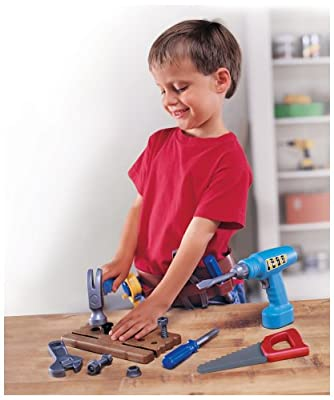 Pretend And Play Work Belt Tool Set from Learning Resources