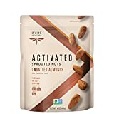 Living Intentions Sprouted Nuts, Almonds Unsalted, 16oz, 16 Ounce